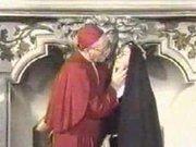 A Nun With Cardinal