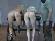Spanking blondes