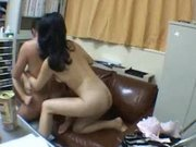 Hairy Asian Milfs Threesome Creampie Fucked By 1 Japanese Guy