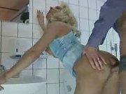 Horny Wife Fucks Stranger In Public Toilet...F70