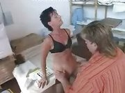 German Mature Boss Fucked Hard