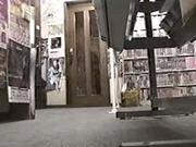 Real hidden camera - Japanese MILF in video room