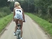 BICYCLE FUN IN GERMANY WITH TEEN KATHI - ANAL  -JB$R