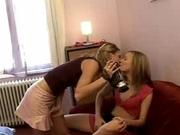 3 girls for the teacher