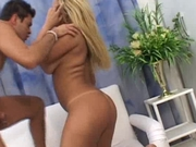 Blond brazilian big boobs tits latin