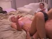 Tracy Licks shares neighbor's cock with Girlfriend