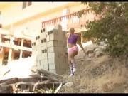 Kaycee Brooks getting her punishment:blk