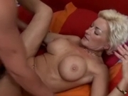 Blond Mom Fucks the Best Friend of Her Son By TROC
