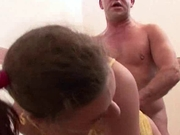 Hot german girl gets fucked    and candles play