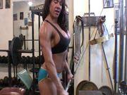 Sexy Latina Clit Workout