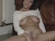 British slut Rebekah plays with herself in various scenes