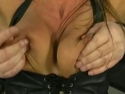 Mature nipple punishment