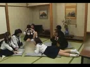 Japanese students group sex
