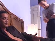 Ebony hotties butt-banged by monster cocks