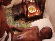 Large African Oil Massage 2