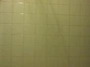 Chubby latina wife masturbating in the shower
