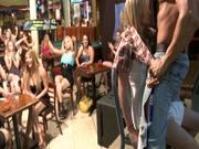 Girls Sucking Dick At Stripper's Club.