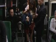 Kaori Maeda gets hotly fucked by a few guys in a public bus