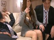 Hitomi Tanaka gets hotly fucked after giving a blowjob
