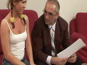 Slutty Teen Gets Freaky With Her Teacher.