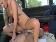 Naughty Blonde Teen Rides A Big Cock In Hardcore Scene