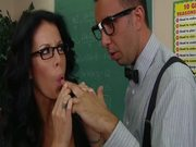 Mrs.Stevens  Punishes Her Horny Students With Hard Fucks