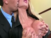 Having Fun in the Office with the MILF Taylor Wane and Her Big Boobs