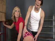 Chastity Lynn Gets Punished!