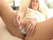 Stunning Blonde Amateur With Sex Toys