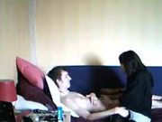 Wake, Suck & Fuck For Young Brunette
