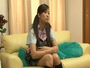 Cute Babe In a School Uniform Gets Tricked Into Sex