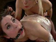 Hot Submissive Babe Gets Caged and Fucked