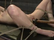 Pretty Blonde Gets Tied Up and Abused