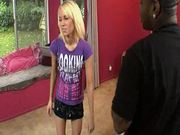 Blonde Alexia Sky Gets a Monster Cock in Her Mouth and Tight Pussy
