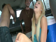 Fucking bus for charming whore Tara Lee