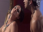 Arabian style sex with sexy belly dancer Tory Lane