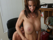 Boobfuck performed by kinky milf Deauxma is just astonishing