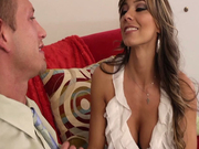 Shameless latina MILF Esperanza Gomez seduces her lover