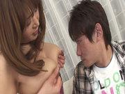Hikaru Wakabayashi pussy eats thongs