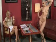 Blonde Shows The Casting Director Her Sexy Body & Kinky Moves
