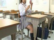 Slutty Schoolgirl gets fucked rough in an empty classroom