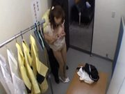 Bewtiching Chiharu Akino gets fucked in a shop by security officer