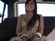 Naughty Babe Jumps in the Bang Bus To Get Her Ass Drilled