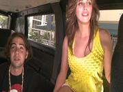 Gorgeous Blonde Gets Drilled In The Back Of The Bang Bus