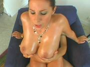 Hot Oiled Up Fun With The Insatiable Redhead Gianna