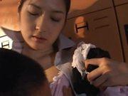 Hot Locker Room Sex With The Asian Babe Yuko Kazuki