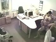 Hardcore Office Action With Horny Coworkers In A Voyeur Clip
