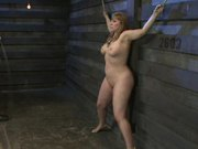 Chubby Busty Gal Tortured and Throat Fucked In BDSM Clip