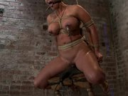 Strapon Fuck and More Humiliations For a Bounded Babe