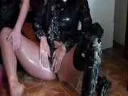Busty Euro Babes Getting Wet and Messy when Baking a Cake